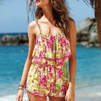 Blouson Romper Cover-up