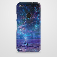 Ocean, Stars, Sky, And You Google Pixel XL Case | casefantasy