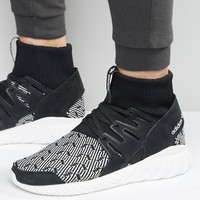 adidas Originals Tubular Doom Sneakers In Black S80096 at asos.com