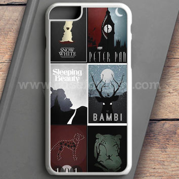 Minimalist Disney Film Posters iPhone 6S Case | casefantasy