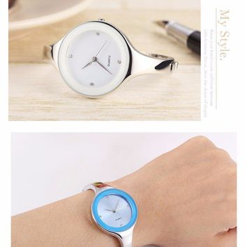 """Accessories"" Stainless steel Wrist watch Bracelet Quartz watch!!!"