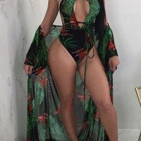 In the Wild One-piece Swimsuit (With Cover-up)