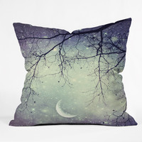 Shannon Clark Diamonds In The Sky Outdoor Throw Pillow