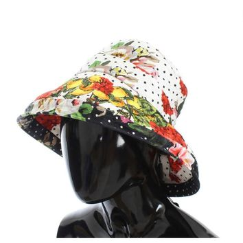 Dolce & Gabbana Carretto Print Wide Brim Bucket Hat
