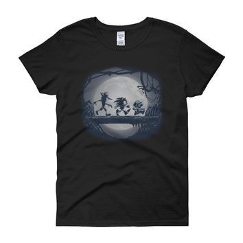 Gaming Matata Mario Sonic Hedgehog Crash Bandicoot Women'S T Shirt