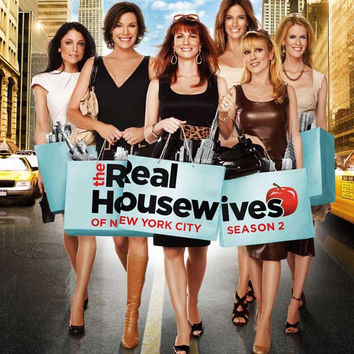 The Real Housewives of New York City 11x17 Movie Poster (2008)