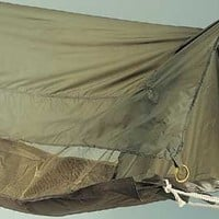 Military Style Jungle Hammock, Shelter, Mosquito Bug Netting