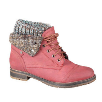 Refresh by Beston Women's 'Wynne-01' Lace-up Combat Boots   Overstock.com