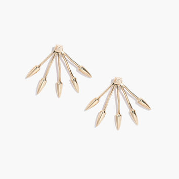 PAMELA LOVE® FIVE SPIKE STUD EARRINGS