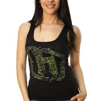 Hostility Women's Rockin Racer Back Tank Top