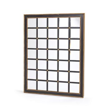 Contemporary Grid Mirror