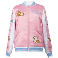 Rilakkuma Sweets Shop Satin Jacket