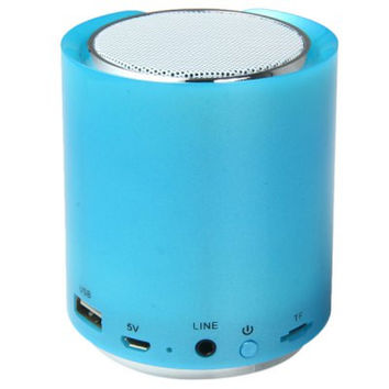 DS - 704 HiFi Wireless Bluetooth Handsfree Phone Speaker with FM Radio Support TF Card USB Input 1