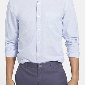 Men's Bonobos 'Horizontal Banker Stripe' Slim Fit Sport Shirt