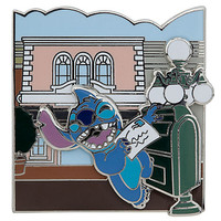 Disney Stitch Pin - Main Street Opera House | Disney Store