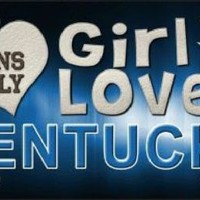 This Girl Loves Kentucky  Fans  License Plate Tag SEC