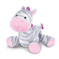 Carter's Zebra Waggy Musical Toy (Pink/Gray)