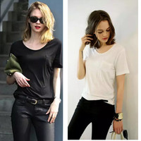 Short Sleeve Scoop Neckline Shirt