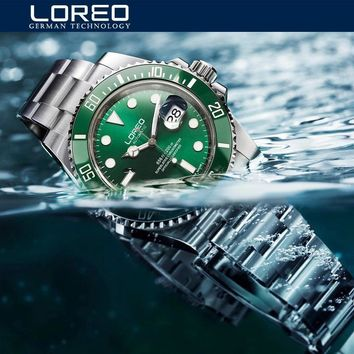 Famous Band Rolex Luxury Men Watch Automatic 200M Waterproof Swimming Diving...