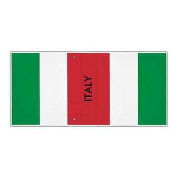 Binder with Flag of Italy