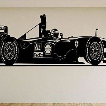 Indy Racing Race Car Auto Wall Decal Stickers Murals Boys Room Man Cave