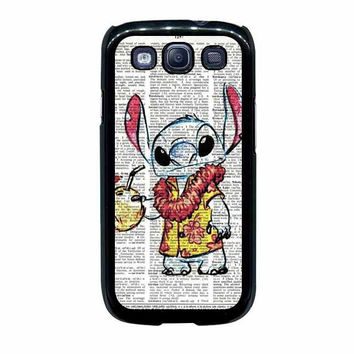 lilo and stitch hand drawn vintage samsung galaxy s3 s4 cases