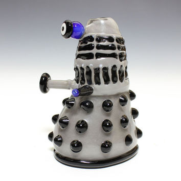Glass Pipe - EXTERMINATE - Hedcraft Glassworks-