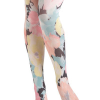 Pastel Me About It Tights | Mod Retro Vintage Tights | ModCloth.com