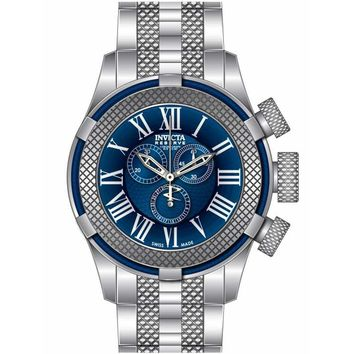 Invicta 17161 Men's Bolt Sport Gen III Blue Dial Stainless Steel Chronograph Watch