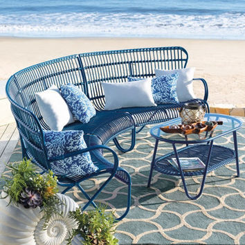 Rizza Outdoor Sectional Furniture