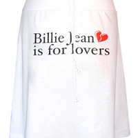 Michael Jackson Billie Jean Is For Lovers Aline Skirt