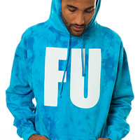 Another Enemy FU Hoodie in Blue Sky