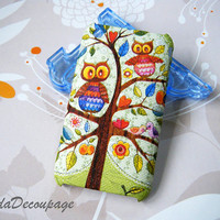 The Owls - iPhone 3g Case , iPhone3gs Case , iPhone Case , Case Handmade