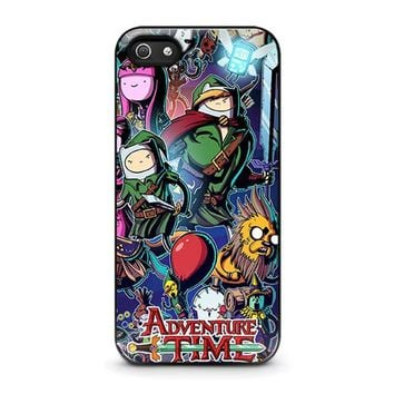 adventure time legend of zelda iphone 5 5s se case cover  number 1