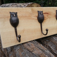 Rustic Cypress Hanging Coat Rack