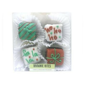 Christmas Brownie Bites Box