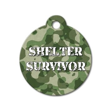Shelter Survivor - Rescue Pet Tag
