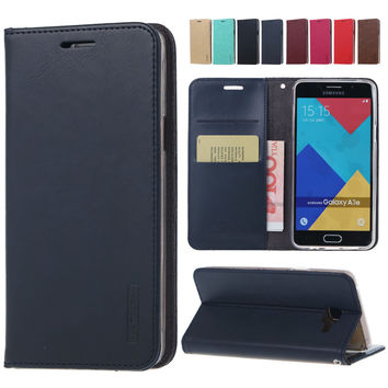 Fahion Leather Wallet Cover sFor Samsung Galaxy A3 A5 2016 A310 A510 A710 Note 3 4 5 J5 J7 J120 J510 J710 G530 S6 S7 Edge Case