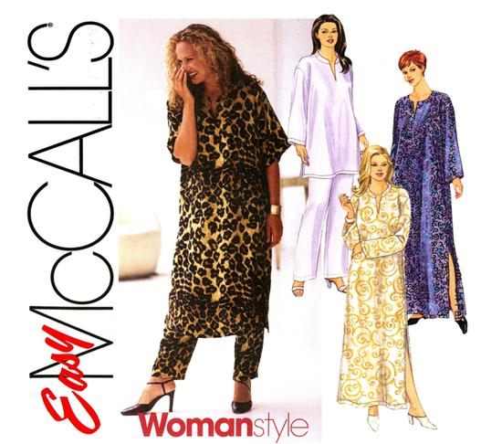 Plus Size Caftan And Lounge Pajamas From Goodsmiths
