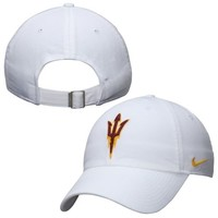 Arizona State Sun Devils Nike Women's Campus Adjustable Performance Hat – White