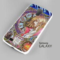 Howl's Moving Castle - Nouveau Art A0627 Samsung Galaxy S3 S4 S5 Note 3 Cases
