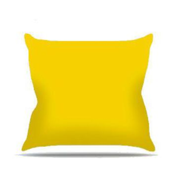 Yellow Diamond Cloth Posing Pillow Cover - PRP509