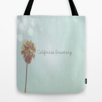 California Dreaming Tote Bag by SoCalPhotography