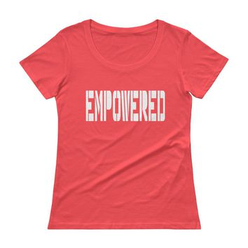 Empowered Womens Racerback Women's tee