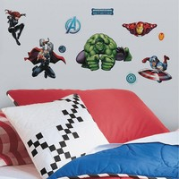 Marvel Avengers Assemble Peel & Stick Wall Decals