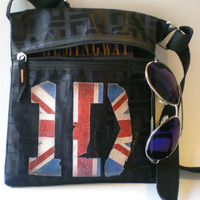 1D One Direction Messenger Bag Hip Bag One of a Kind British Chic Cross body Bag