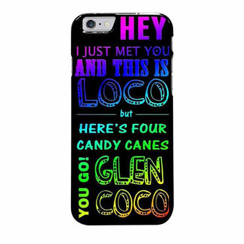 glen coco mean girls inspired poster rainbow iphone 6 plus 6s plus 4 4s 5 5s 5c 6 6s cases