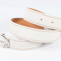Tod's womens belt WCPK20-100 WHITE