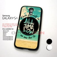 All Time Low Beach Quote Design for Samsung Galaxy S4 Case