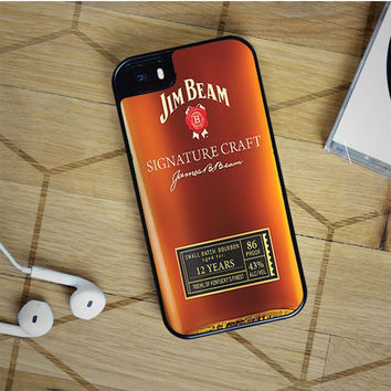 jim beam whiskey iPhone 5(S) iPhone 5C iPhone 6 Samsung Galaxy S5 Samsung Galaxy S6 Samsung Galaxy S6 Edge Case, iPod 4 5 case